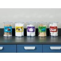Labeled, Clear Plastic ''Animal Pals'' Sundry Jars ( Set of 5)