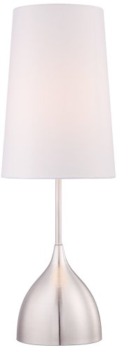 Chalice Modern Brushed Nickel Table Lamp