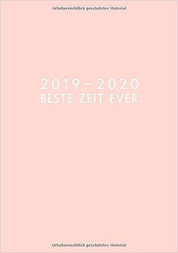 2019 - 2020: Wochenplaner ab KW14 | April 2019 bis Dezember ...