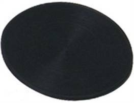 Carta Sport Men's Crowngreen Rubber Bowl Mat 5.5 Diameter In Black Colour -