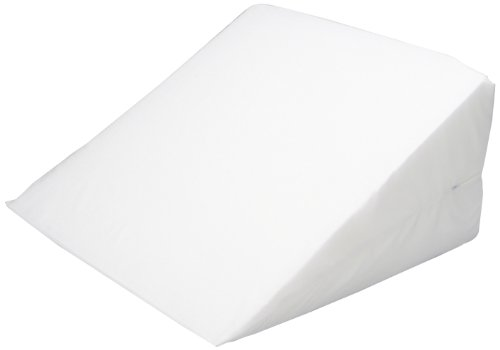 Hermell Products 12-Inch Bed Wedge with White Cover