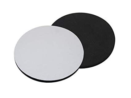 6 Sublimation DyeTrans Rubber Round Coasters 1//8 Thick Blank Heat Transfer 10 x 0,03 cm