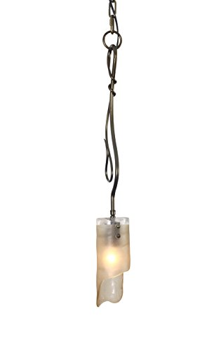 Varaluz 126M01SSG Soho 1 Light Mini Pendant, Green - Soho 4 Light Bath