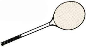 Champion Sports Aluminum Double Shaft Badminton Racket