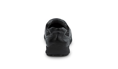Sr Max Charleston Mens Antiscivolo Slip On Sneakers Nero