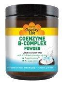 Coenzyme B-Complex Coconut Country Life 1.95 oz z (55g) Powder - B-complex Powder