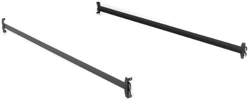 Leggett & Platt Consumer Products Group 75-Inch 140H Bed Frame Side Rails with Hook-On Brackets for Headboards and Footboards (No Carton), Twin/Full by Leggett & Platt Consumer Products Group