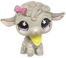Littlest Pet Shop Lamb Sheep 477 with Original Collar Accessory Lps