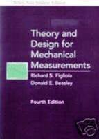 Wie Theory and Design for Mechanical Measurements W/Cd4/e, International Edition