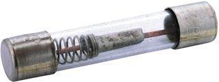 10r Fuse - Bussmann by Eaton BK-MDL-1-6-10-R Fuse Cylinder Time Lag 1.6A 3AG Dims 0.25x1.25 inch Glass Cartridge 250VAC Clip