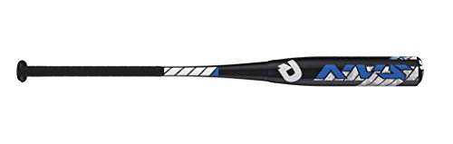Wilson DeMarini NVS Vexxum Barrel League Baseball Bat, 31'/21 oz, Black/Navy/White