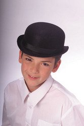 Rubie's Costume Co Child Dura. Derby Hat-Bk Costume (Bowler Hat)