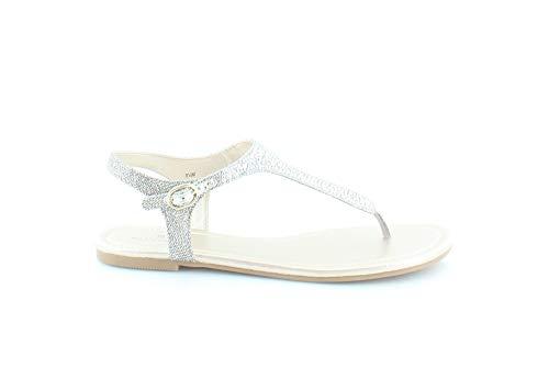 Bandolino Women's Kyrie Flat Sandal, Gold, 6.5 M US