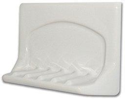 Ceramic Bath Soap Holder - White