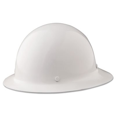 Skullgard Protective Hard Hats, Ratchet Suspension, Size 6 1/2 - 8, White, Sold as 1 Each