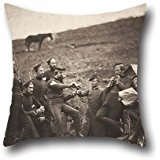 Oil Painting Roger Fenton - L'Entente Cordiale Pillowcase 18 X 18 Inches / 45 By 45 Cm Best Choice For Study Room,lounge,home,kids,home Office,girls With 2 Sides