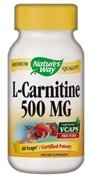 Nature Way L-Carnitine, 60 Vcaps