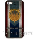 [Battlestar Galactica Caprica Flag HD image phone cases cover for iPhone 6 plus] (Galactica Costumes)