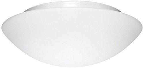 Nova Lighting Glass - Besa Lighting 977107C 2X60W A19 Nova 13 Ceiling Flush Mount with White Glass