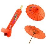 15.5-inch Hand Made Chinese Japanese Element Umbrella Parasol for Wedding Party Dancing