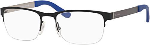 (TOMMY HILFIGER Eyeglasses 1324 00FY Brown Orange 52MM)