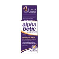 alpha betic Multi-Vitamin Caplets 30 Caplets (Pack of 3)