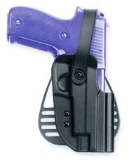 Kydex Thumb Break Paddle Holster (Uncle Mike's Kydex Thumb Break Paddle Holster HK P2000, USP Compact Left Hand 56312)