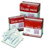 North 714-067522 First Aid Sterile Gauze Pad - 2 x 2 in.