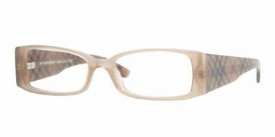 Burberry Eyeglasses BE2080 3166 Beige/Sepia Demo Lens 50 16 ()