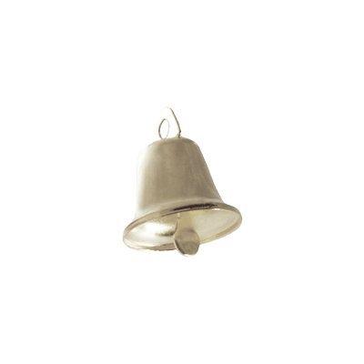 Lead Free Christmas Shining Liberty Bells Silver 19mm