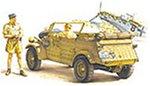 German Kubelwagen Type 82 Africa Corps Model (Tamiya Kubelwagen Type)