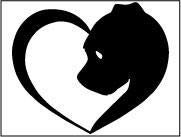 (GSF Frames Yorkie Heart 6x5 Inch Out Door Vinyl Decal for Laptop, Car, Window, Computer, Etc. Black)