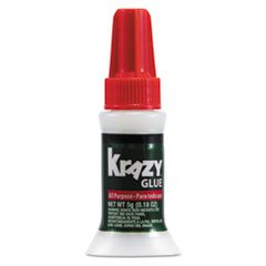 Instant KG92548R Krazy Glue Brush-On Formula with All-Purpose ()