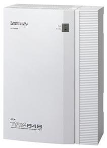 KX-TAW848 Advanced Hybrid Wired/Wireless Telephone System ()