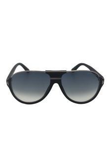b1b4539964cb Amazon.com   Tom Ford Tf 334 Dimitry 02w - Shiny Black Sunglasses For Men    Beauty