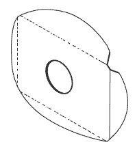 Lens Splash Shield for Marus, Knight, Henry Schein MAL002