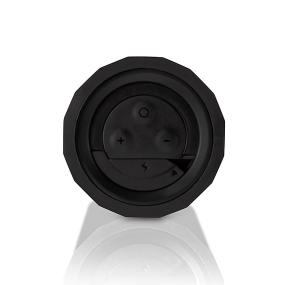 Control panel of the Outdoor Tech Buckshot Water-Resistant Wireless Bluetooth Speaker