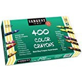 2 x Sargent Art 55-3220 Best-Buy Assortment Crayon 3-5/8-Inch 400-Count by Sargent Art (Image #1)