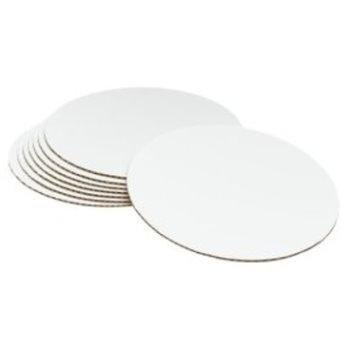 "5 x 8/"" Inch Round Gold Cake Board Card 3mm DOUBLE THICK"