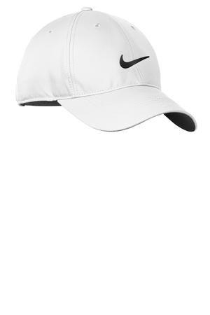 Nike Golf Dri-FIT Swoosh Front Cap, White/Black, OS