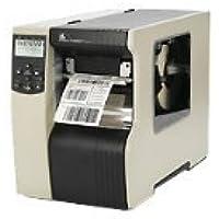 Zebra Technologies 140-801-00003 140XI4 Barcode Printer, 203 DPI, Internal Zebra Technologies net 10/100 PRI, 120V Cord, 16MB SDRAM, ZPLII and XML, Clear Side Door and Media Hanger
