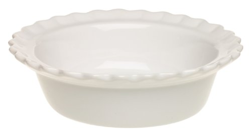 Chantal 93-PD13 WT Ceramic Pie Dish, 5
