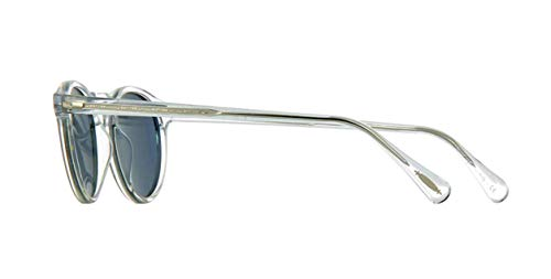 248d9aa2e96 Oliver Peoples Sunglasses Gregory Peck 5217 1101 R8 Crystal Indigo ...