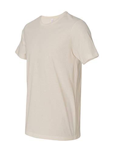Cotton Cream Color - Canvas mens Unisex Jersey Short-Sleeve T-Shirt(3001C)-SOFT CREAM-XL