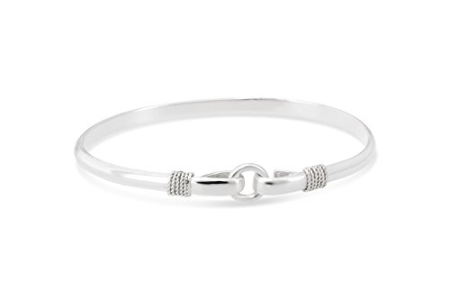 Michael's Jewelers-Provincetown Center Circle Porthole Bracelet from Cape Cod 925 Sterling Silver (8)