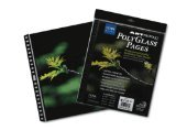 ProFolio by Itoya, Art ProFolio PolyGlass, 10-Pack Multi-Ring Binder Refill Pages - Portrait, 8.5 x 11 Inches