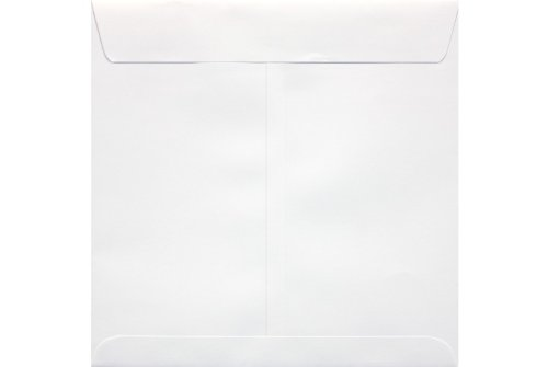 7 1/2 x 7 1/2 Square Envelopes - 70lb. White (50 Qty) | Perfect for Catalogs, Annual Reports, Brochures, Magazines, Invitations | 10951-50 Photo #2