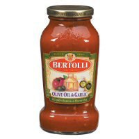 Bertolli Olive Oil & Garlic Pasta Sauce (Case of 12)