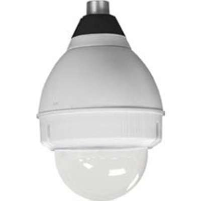 Panasonic POD9CA Outdoor Dome Housing., Silver; for Unitized PTZ Cameras, Pend.Mnt. (Outdoor Pend)
