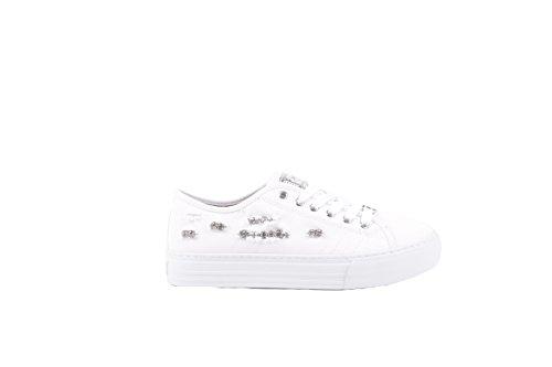Liu Jo Sneakers Donna UM22938A000 Pelle Bianco